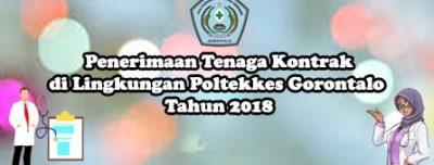Penerimaan Tenaga Kontrak di Lingkungan Poltekkes Gorontalo Tahun 2018