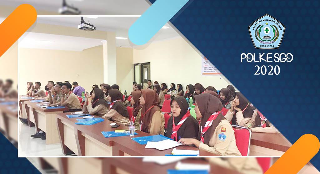 Latihan Dasar Kepemimpinan Dewan Racana Gudep 03.113-03.114 Periode 2019-2020 Pangkalan Poltekkes Kemenkes Gorontalo