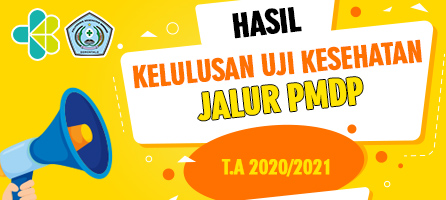 Hasil Kelulusan Uji Kesehatan Jalur PMDP T.A 2020-2021