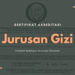 Akreditasi Jurusan Gizi Poltekkes Kemenkes Gorontalo