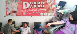 Aksi Donor Darah di Lingkungan Poltekkes Kemenkes Gorontalo