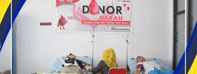 Aksi Donor Darah BEM Poltekkes Kemenkes Gorontalo