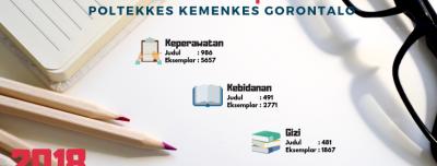 Koleksi Buku Perpustakaan Politeknik Kesehatan Kemenkes Gorontalo Tahun 2018