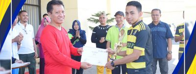 Bangun Solidaritas Poltekkes Kemenkes Gorontalo Gelar Poltekkes Cup