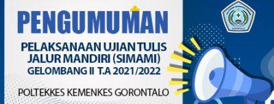 Ketentuan dan Tata Tertib Peserta Uji Tulis SIMAMI Gelombang II Tahun 2021