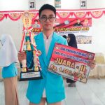 PCTA Provinsi juara 2 Moh Rizaldy Hiola