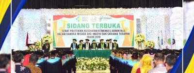 "Wisuda Poltekkes Kemenkes Gorontalo 2019 ""Abdikan Ilmu Ke Masyarakat"""