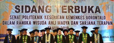 Sidang Terbuka Dalam Rangka Wisuda Poltekkes Kemenkes Gorontalo Tahun 2018