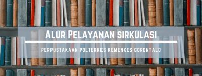 Alur Pelayanan Sirkulasi Perpustakaan Poltekkes Kemenkes Gorontalo