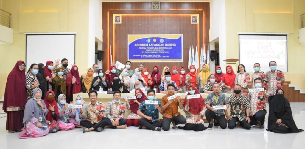 Assesment Lapangan Daring Program Studi Diploma III Keperawatan Poltekkes Kemenkes Gorontalo