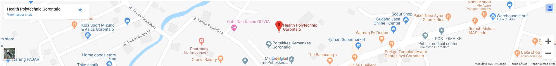 maps poltekkes gorontalo