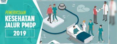 Undangan Pemeriksaan Kesehatan Jalur PMDP Tahun 2019