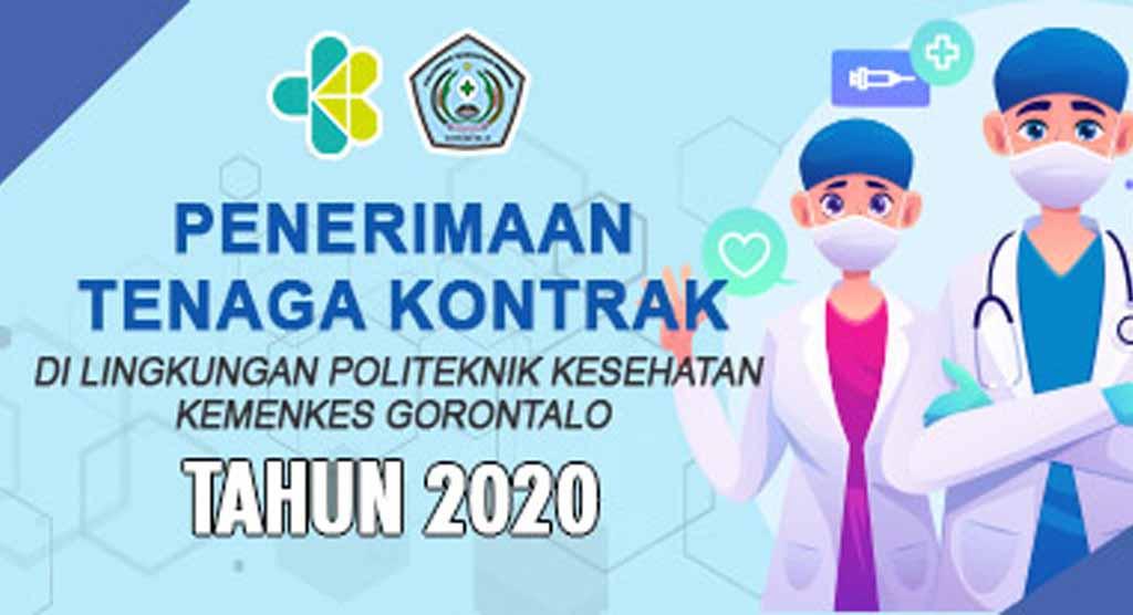 Penerimaan Tenaga Kontrak di Lingkungan Poltekkes Gorontalo Tahun 2020