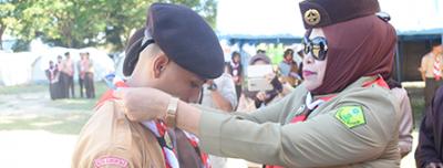Poltekkes Gorontalo Laksanakan Penerimaan Tamu Racana