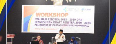 WORKSHOP EVALUASI RENSTRA 2015-2019 DAN PENYUSUNAN DRAFT RENSTRA 2020-2024