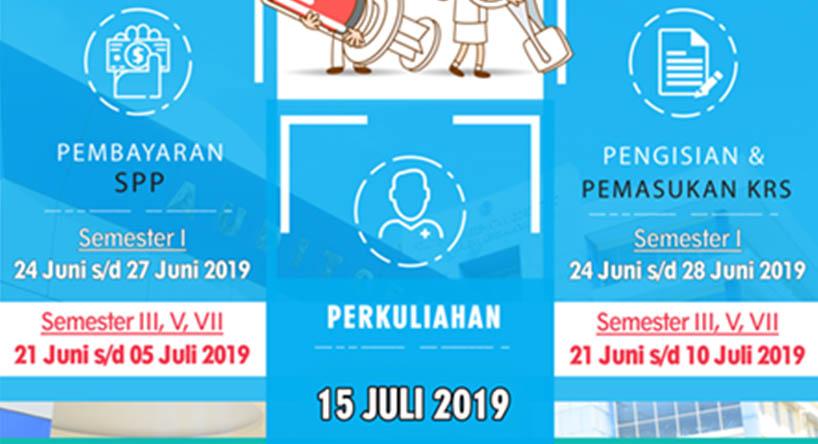Pembayaran SPP, Pengisian dan Pemasukan KRS T.A 2019-2020