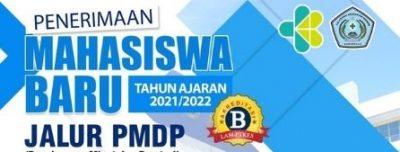 Penerimaan Mahasiswa Baru Jalur PMDP Tahun Ajaran 2021/2022