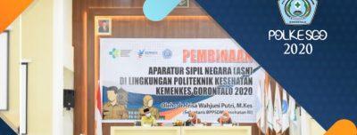 Pembinaan ASN di Lingkungan Poltekkes Kemenkes Gorontalo Oleh Sekretaris BPPSDM Kesehatan RI
