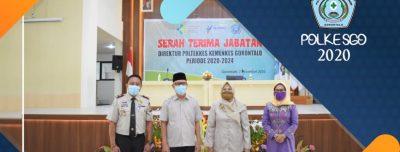 Serah Terima Jabatan Direktur Poltekkes Kemenkes Gorontalo Periode 2020-2024
