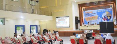 Hadapi New Normal, Polkesgo Gelar PKKMB Secara Daring