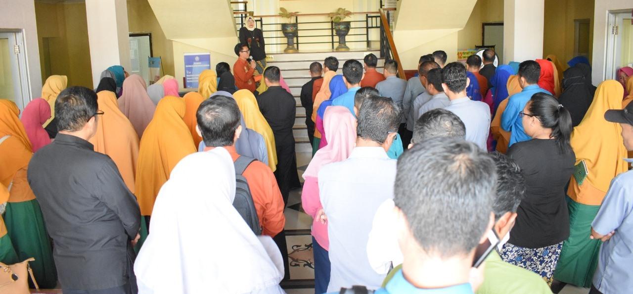 Sebanyak 724 Calon Mahasiswa Mengikuti Ujian Tulis Sipenmaru